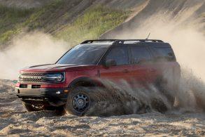Ford Bronco recebe nota máxima em testes de segurança dos EUA