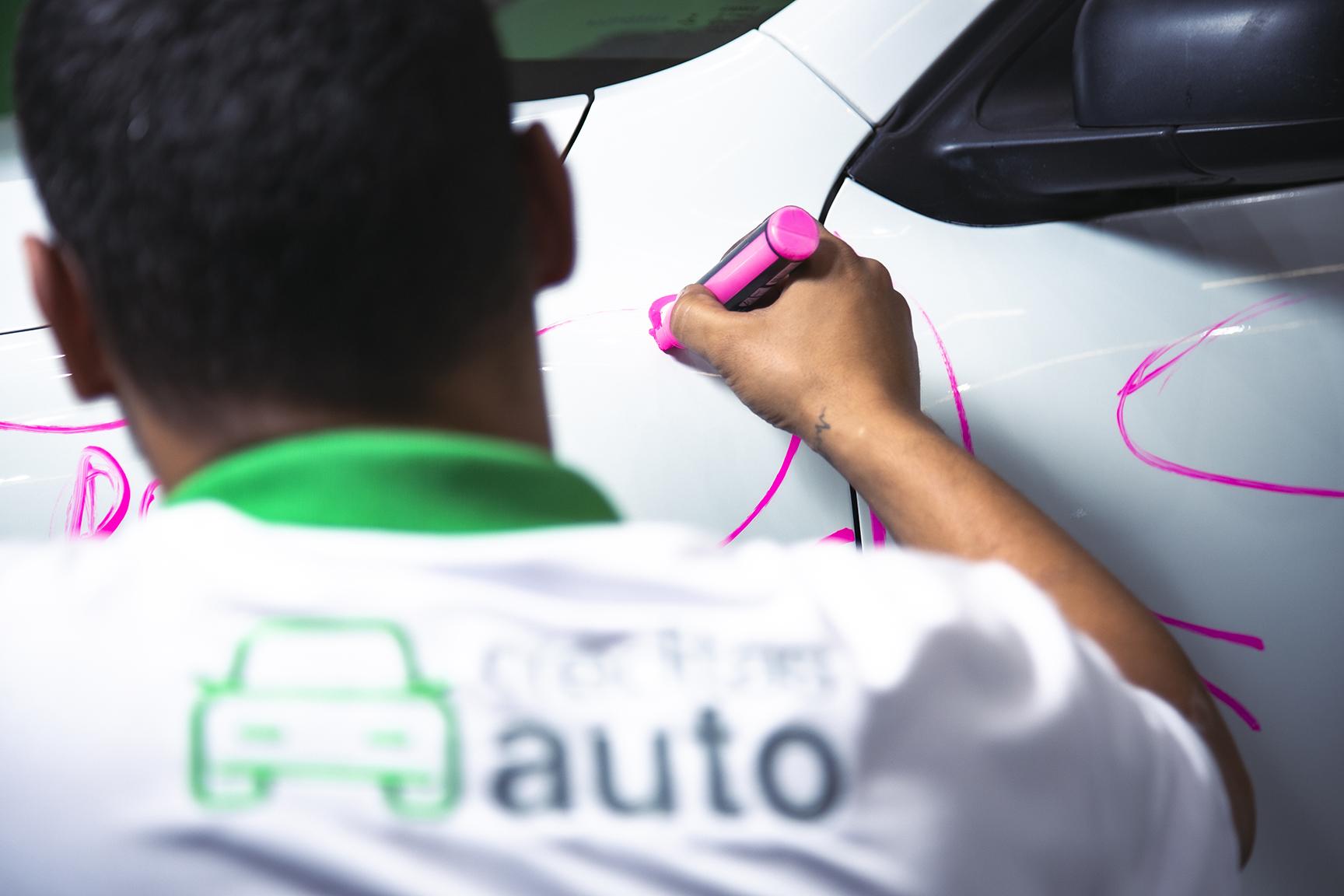 vistoria da creditas auto em carro usado