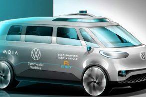 Volkswagen planeja construir van autônoma de nível 4 até 2025