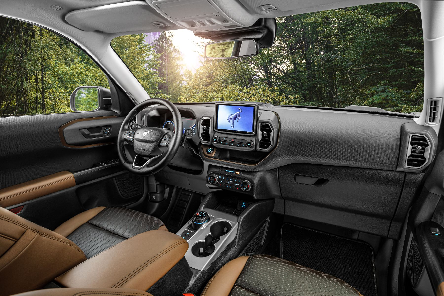 interior ford bronco sport 3