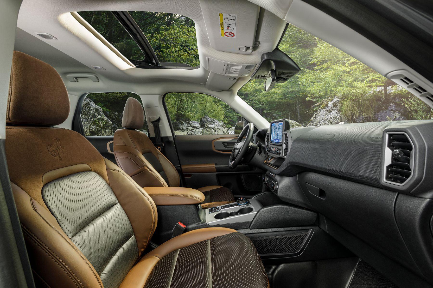 interior ford bronco sport 4