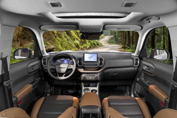 interior ford bronco sport 5