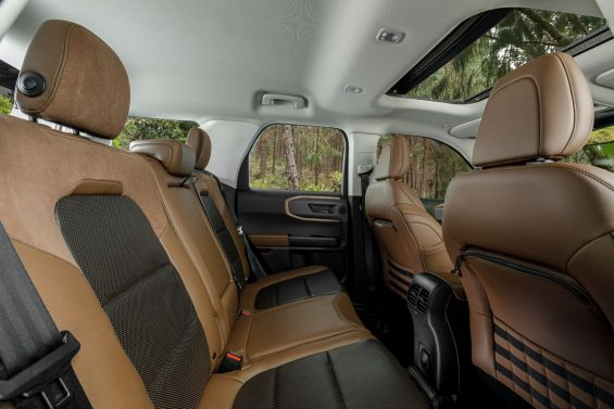 interior ford bronco sport 6