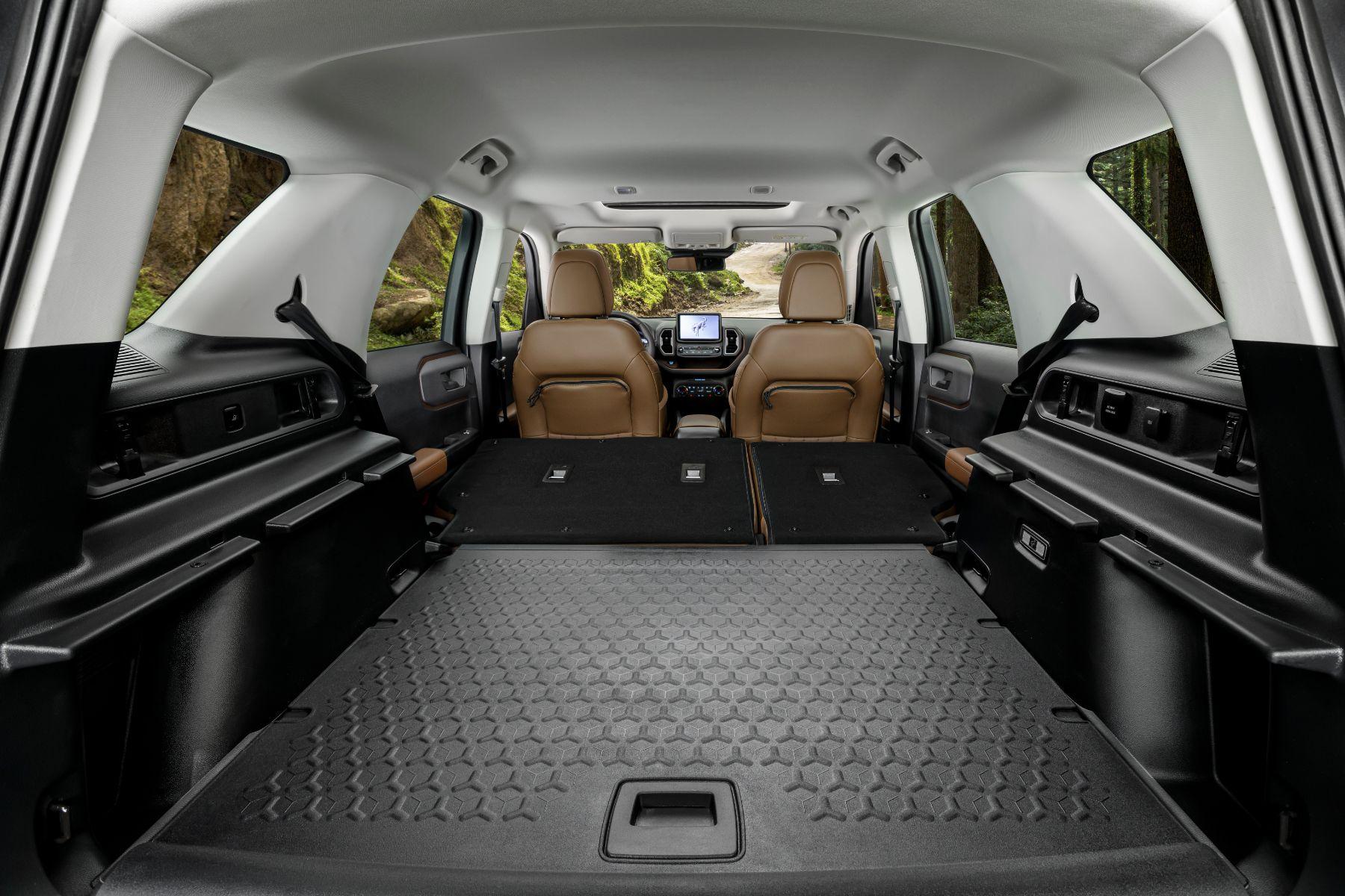 interior ford bronco sport 7
