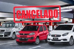 Nova legislação derruba três Fiat's