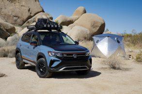 Antes de chegar ao Brasil, VW Taos ganha versão 'off-road' mais radical