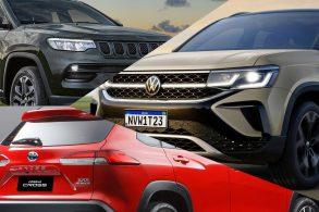 Taos: briga boa da VW com Jeep e Toyota