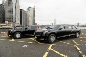 "Presidente dos EUA, Joe Biden quer sua limusine ""A Fera"" eletrificada"