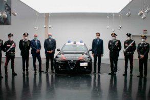 Carabinieri recebem Alfa Romeo Giulia blindados para sua frota