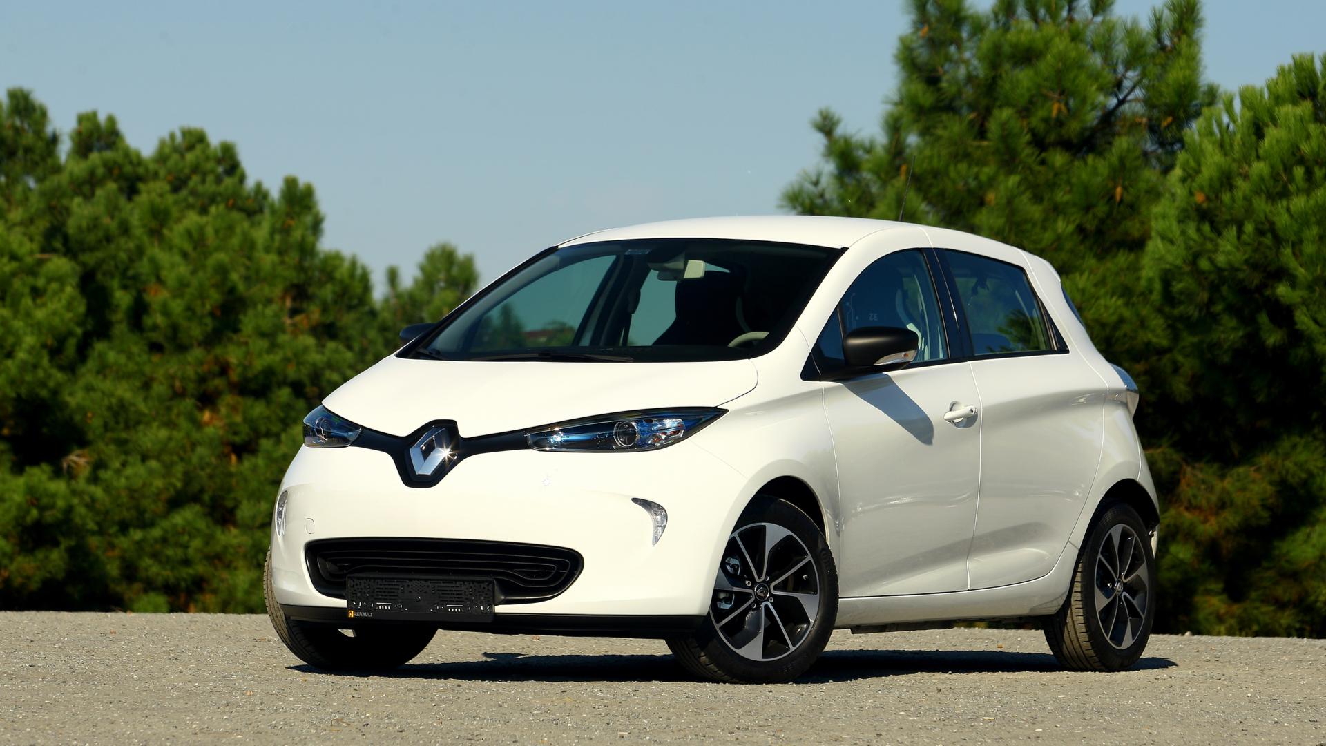 Renault Zoe elétrico
