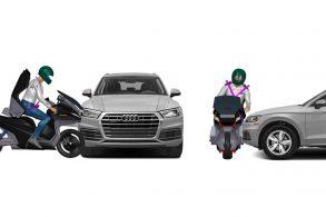 Cinto de segurança para motos? Conheça o novo dispositivo da Italdesign