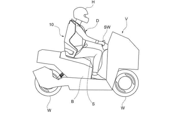 cinto moto italdesign projeto