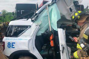 Ford Bronco Sport dá trabalho para equipe de resgate