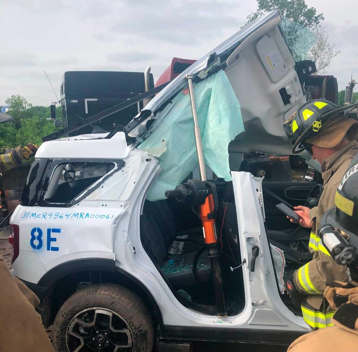 ford bronco sport treinamento resgate bombeiros