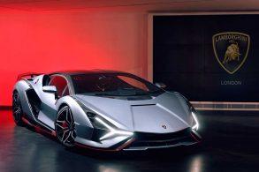 Brasileiro para o trânsito de Londres com Lamborghini de R$ 20 milhões