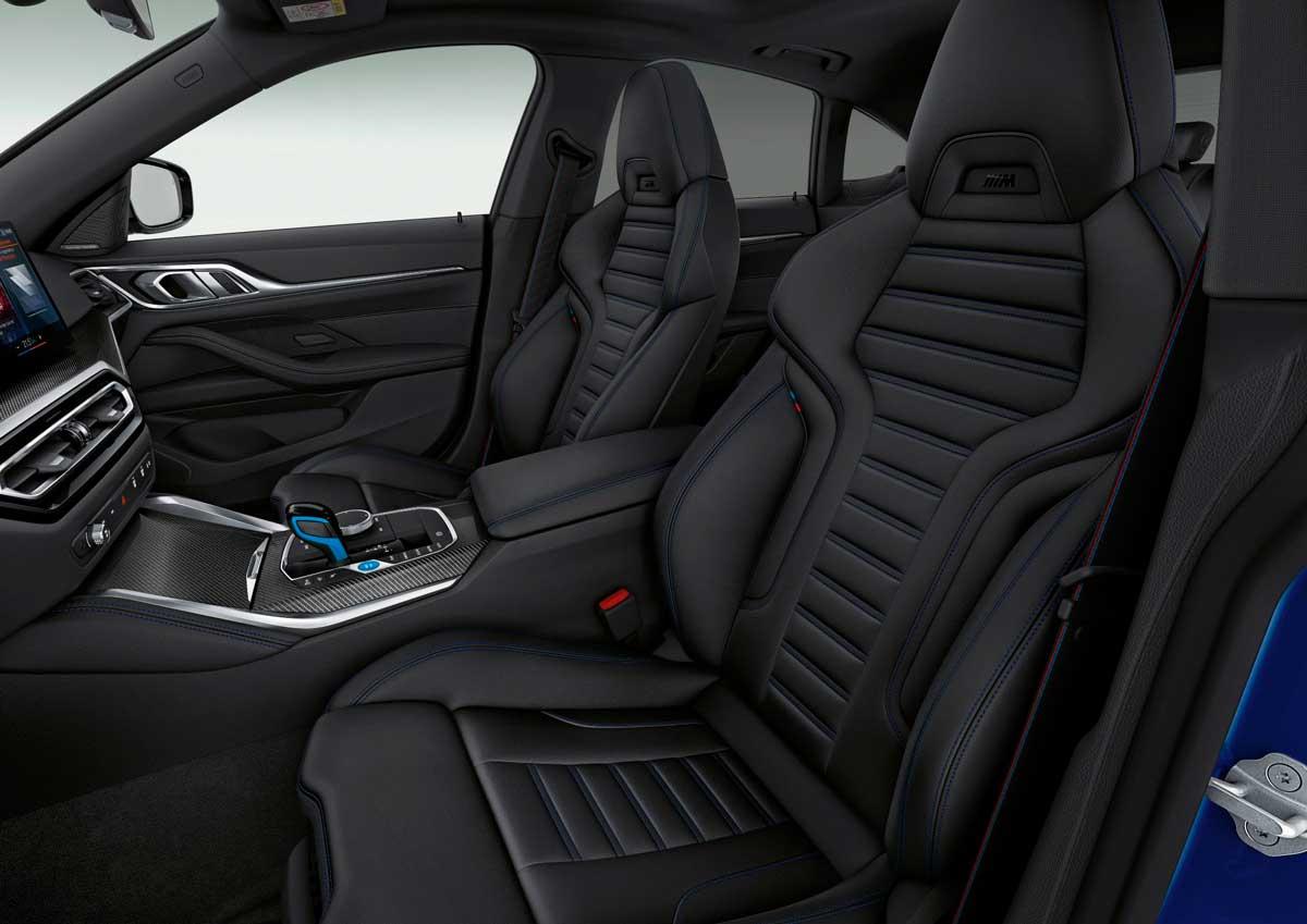 bmw i4 m50 interior 2