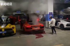 [VÍDEO] Foi usar Lamborghini para fazer espetinho e se deu mal!
