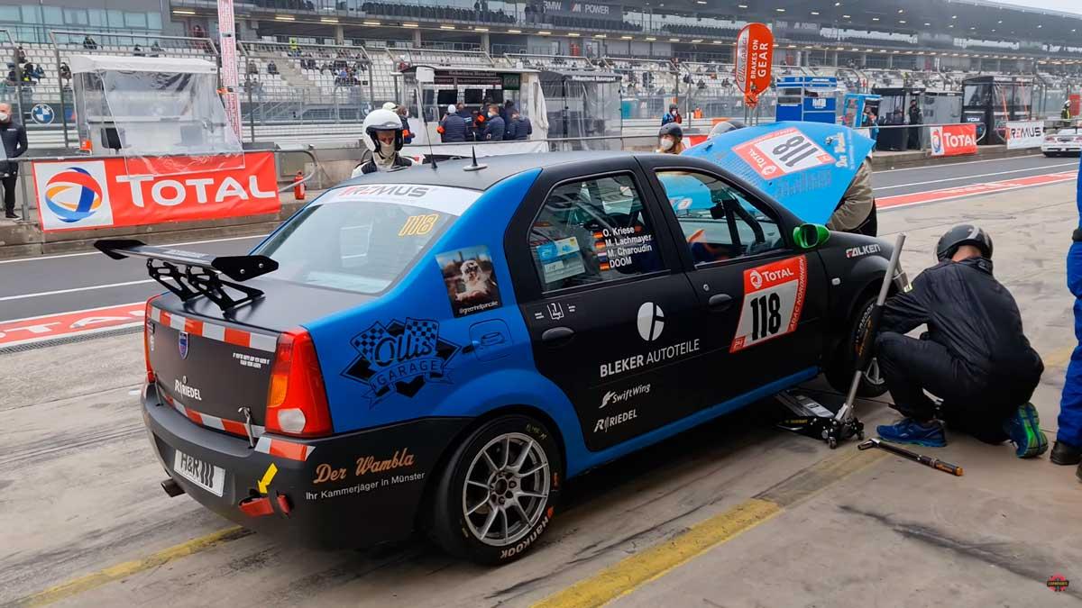 dacia logan nurburgring 1