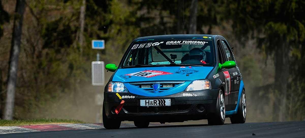 dacia logan nurburgring 3