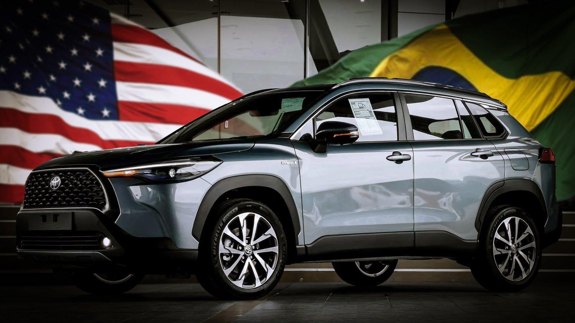 O Corolla Cross dos EUA é como o do Brasil. Mas melhor!