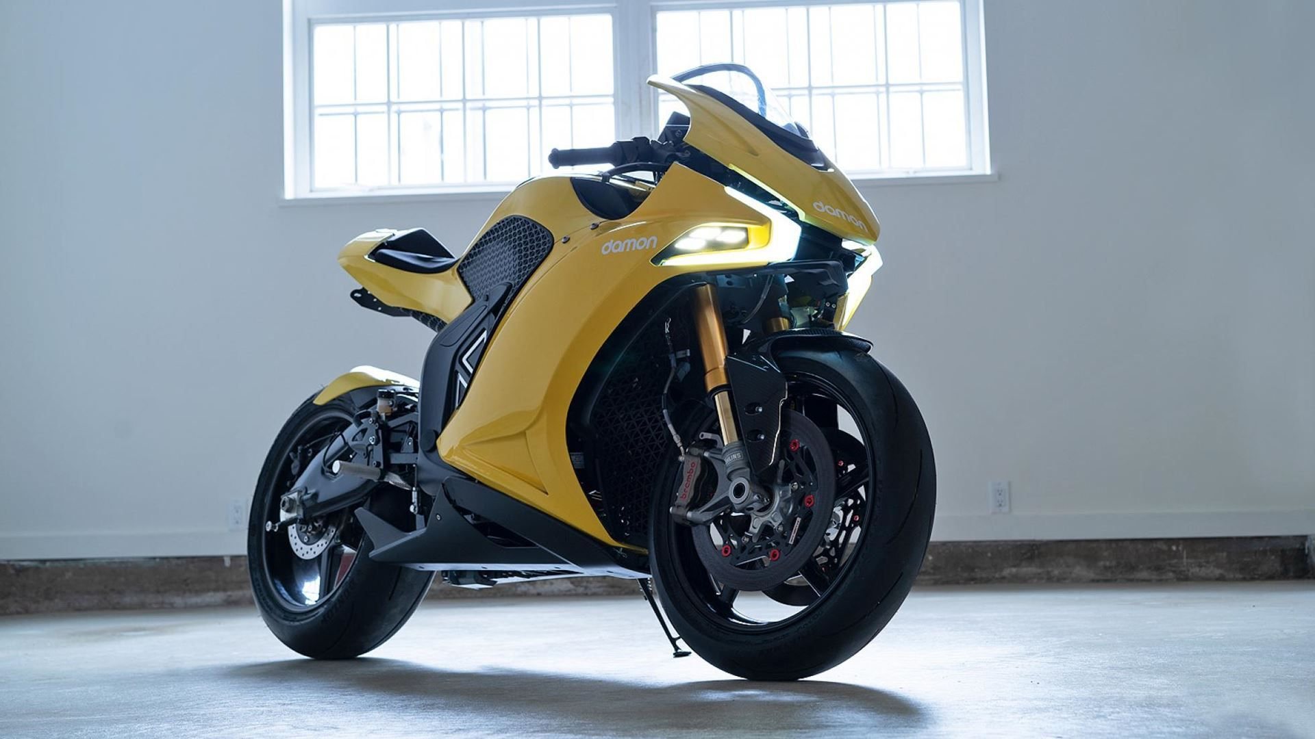 damon hypersport frente moto eletrica 1