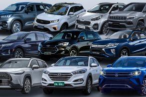 Os 10 melhores SUVs médios do Brasil: preço e análise