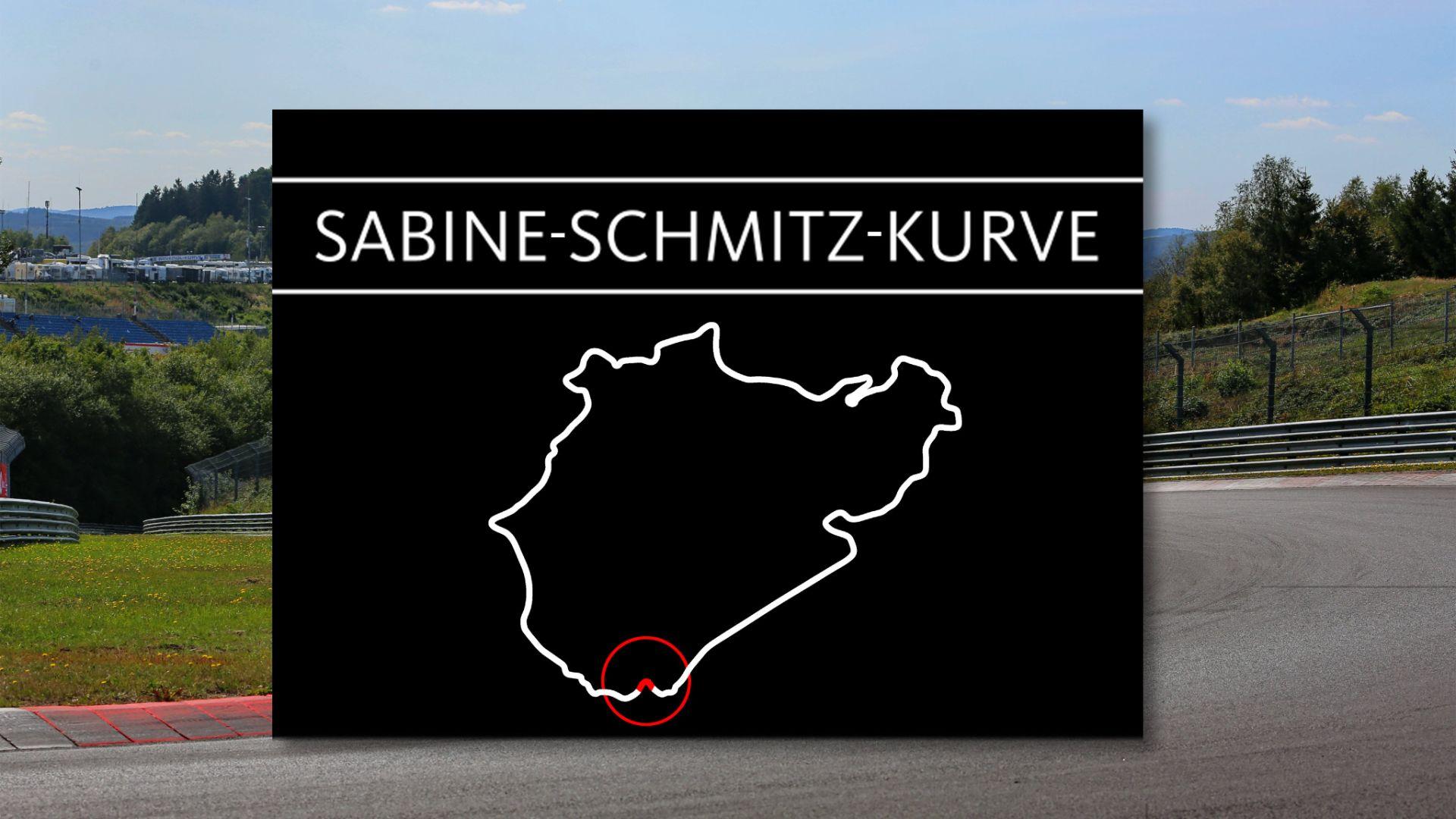 curva sabine schmitz nurburgring