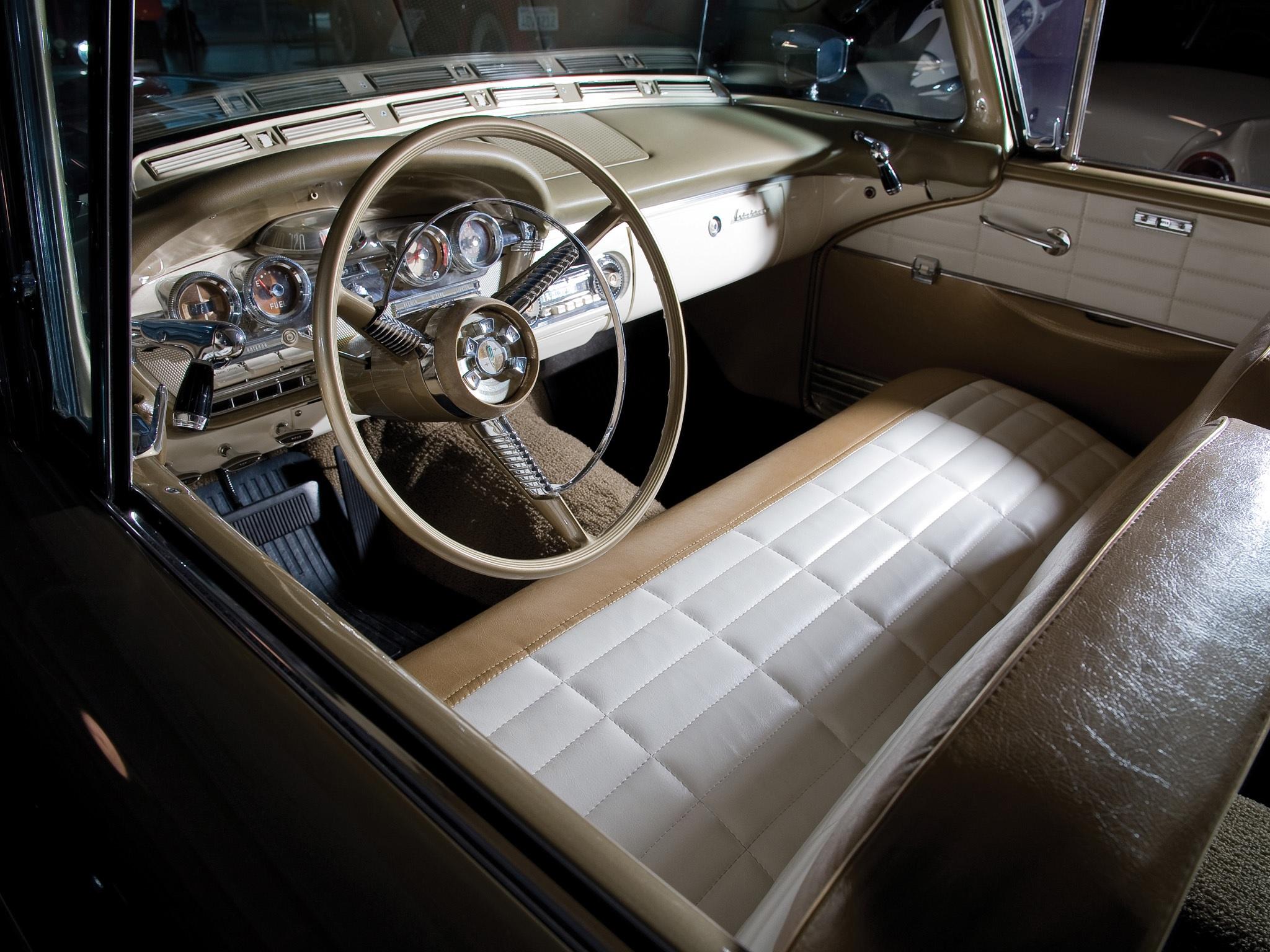 interior do edsel citation convertible 1958