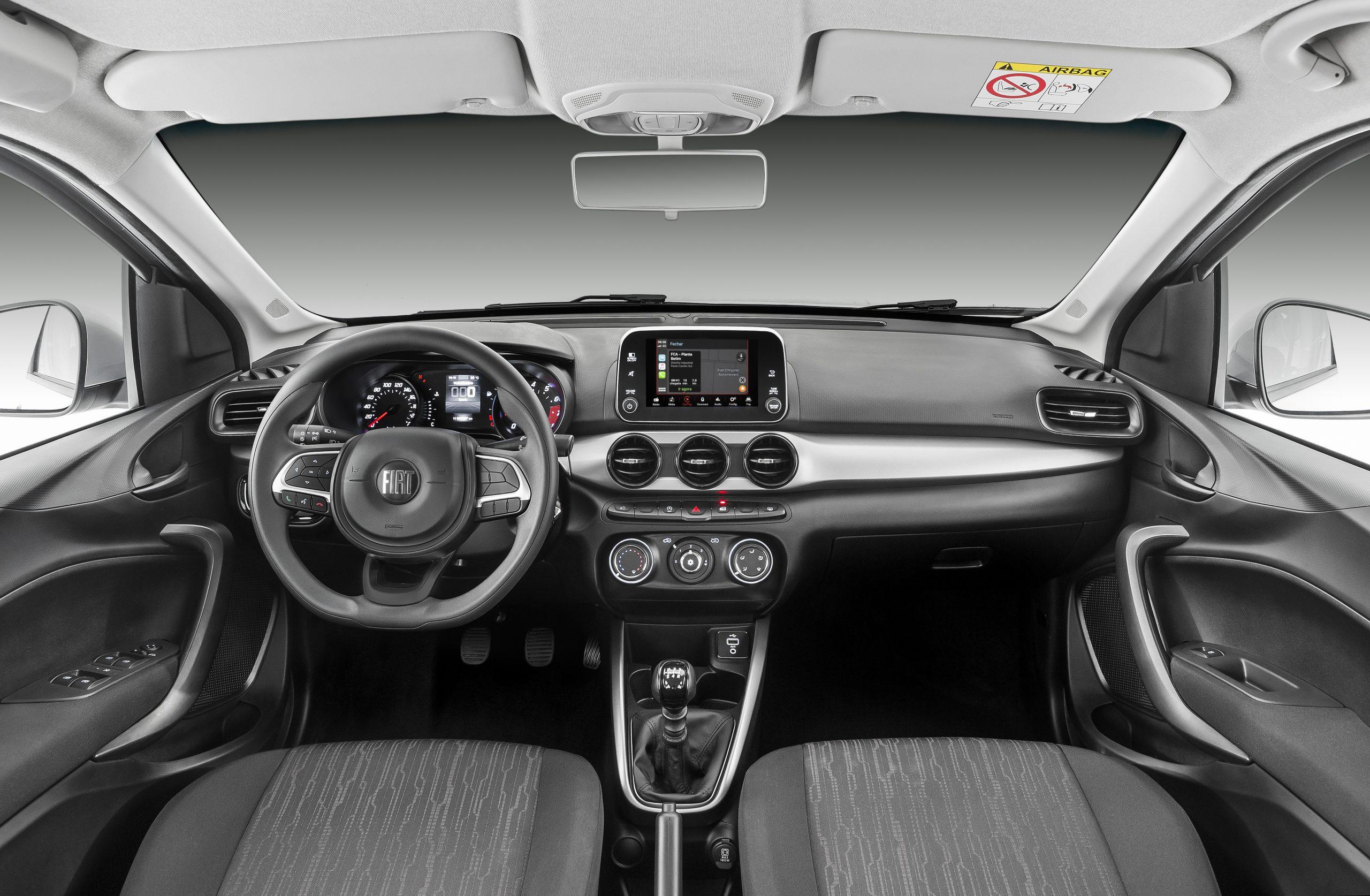 interior fiat argo 1 3 drive