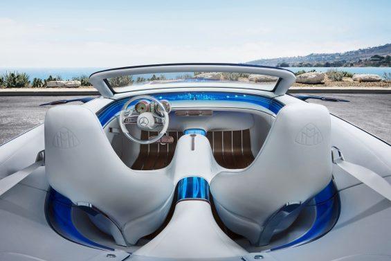 vision mercedes maybach 6 cabriolet interior