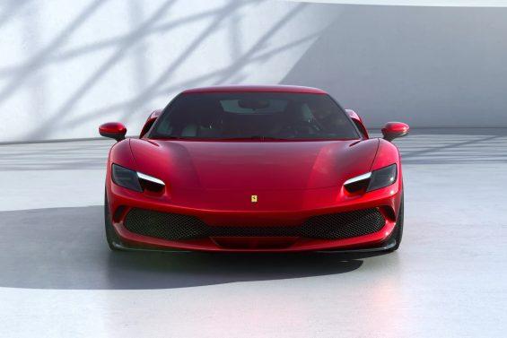 Ferrari-296GTB-Vermelha-Frente