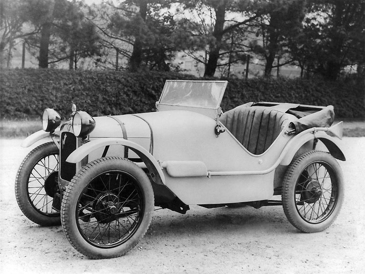 austin 7 seven 1929 lateral foto de epoca