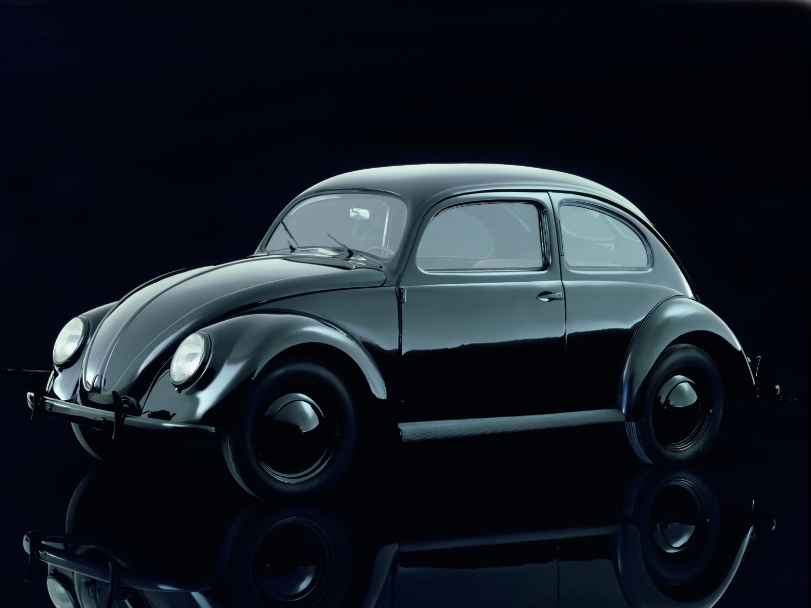 volkswagen fusca beetle primeira serie 1938 1945 de frente