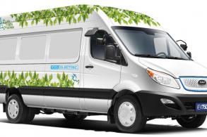 JAC lança a van elétrica IEV750V com 76 kgfm de torque no Brasil