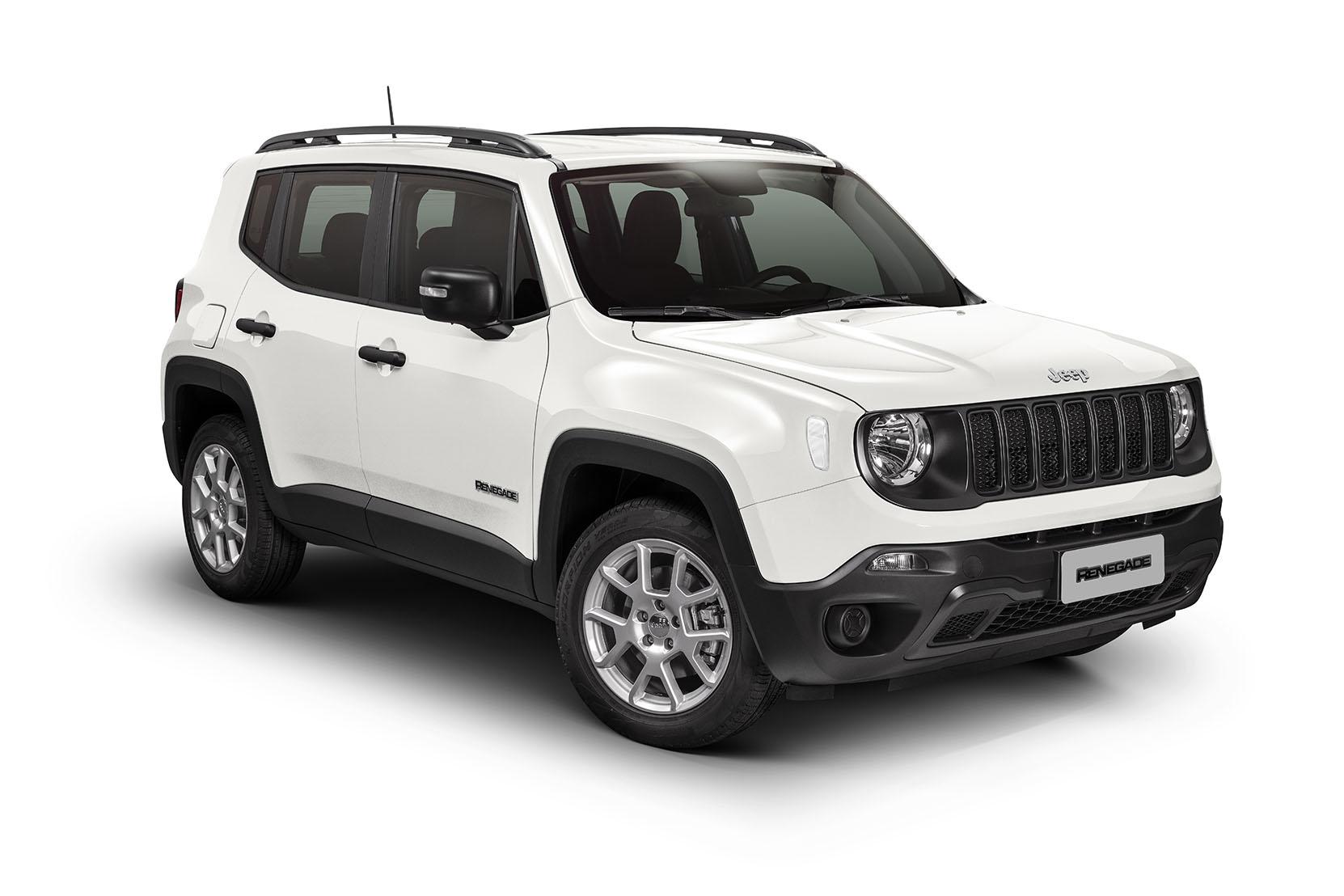 jeep renegade sport flex branco de frente