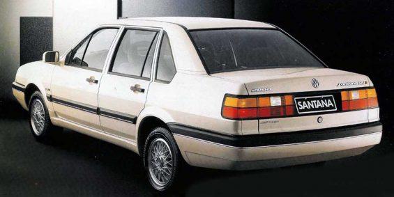 santana 1991 quatro portas prata traseira credito divulgacao vw