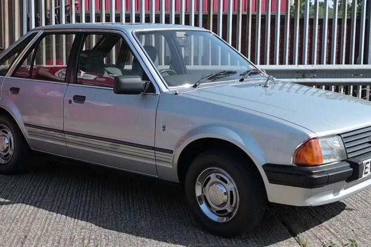 1981 ford escort ghia princesa diana frente 3 4
