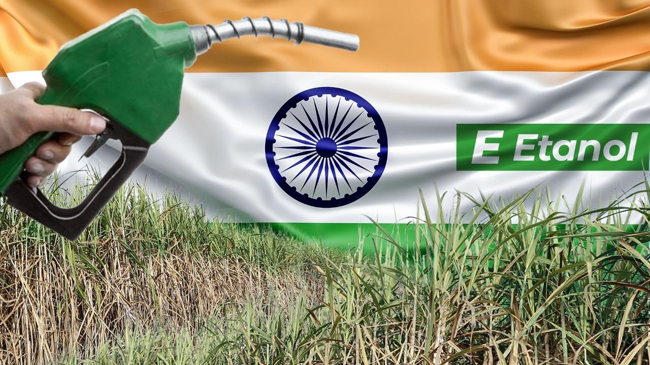 Índia segue exemplo do Brasil e parte para o etanol como uma alternativa de combustível veicular.