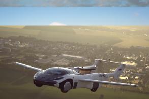 Carro voador da Klein Vision completa teste na Eslováquia