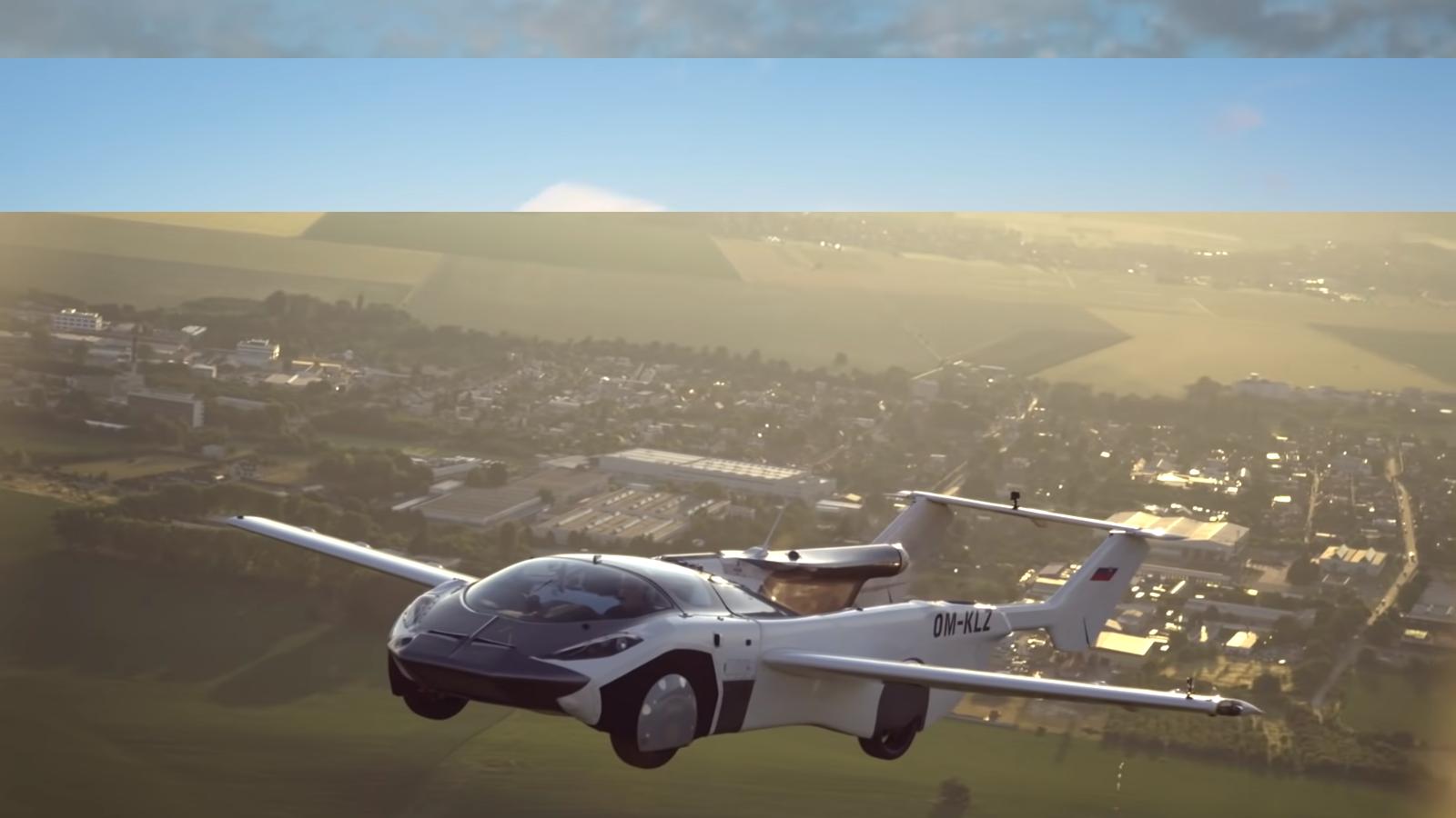 Protótipo de Carro voador da Klein Vision completou teste de 35 minutos