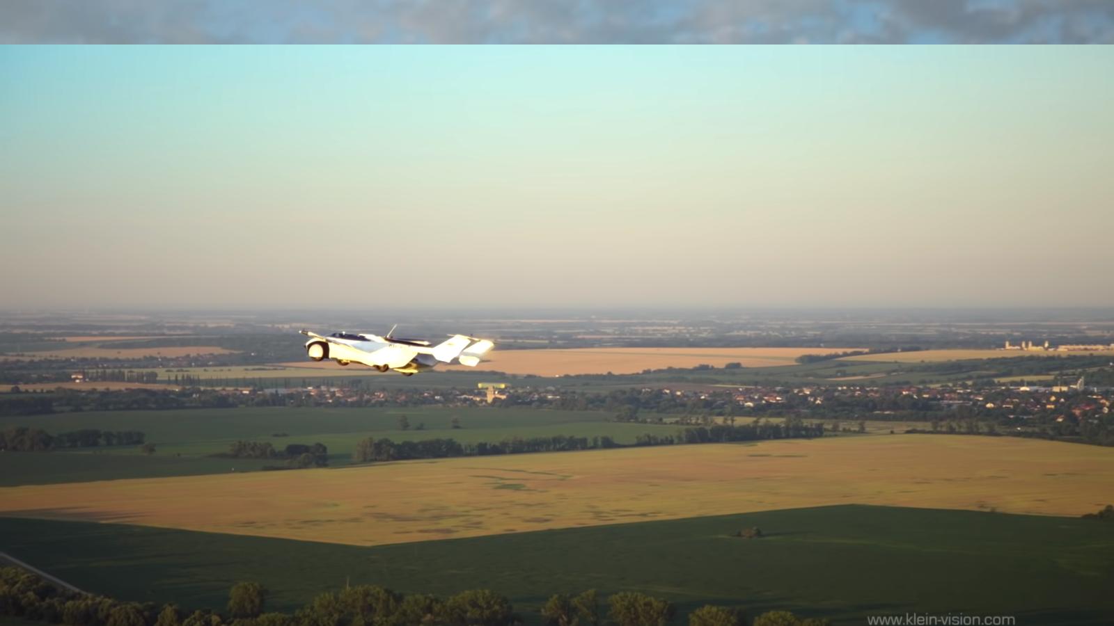 carro voador aircar prototype1 voando2