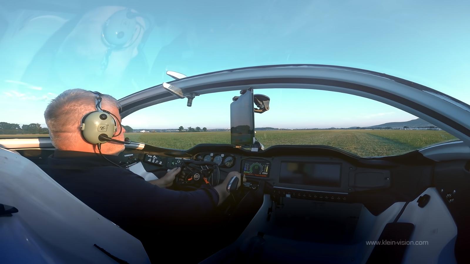 cabine carro voador aircar prototype1