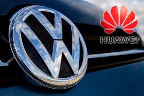 Volkswagen faz parceria com a Huawei para usar tecnologia 4G