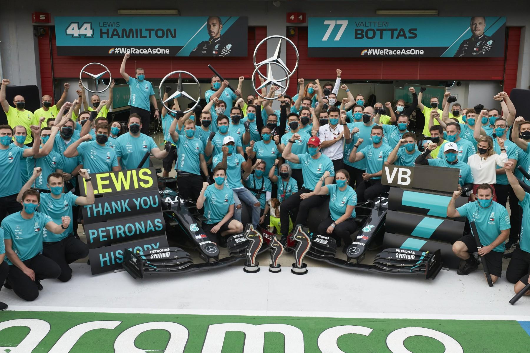 time da equipe mercedes formula 1