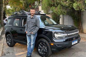 Galã Rodrigo Hilbert é embaixador do Ford Bronco no Brasil