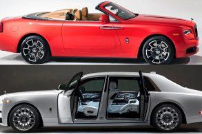Casal 'se dá' de presente um par de modelos únicos de Rolls-Royce
