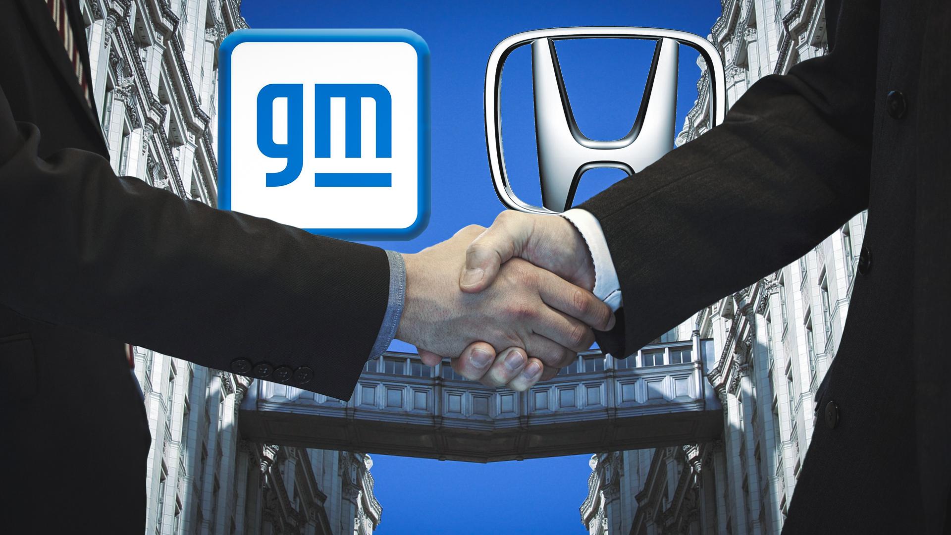 Honda e General Motors estabeleceram parceria nos Estados Unidos.