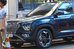 Novo Hyundai Creta é flagrado e revela mudanças feitas para o Brasil