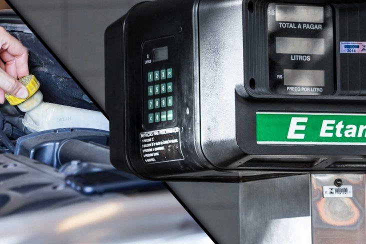 O tanquinho auxiliar de gasolina para partido a frio está sendo abolido pelas fábricas