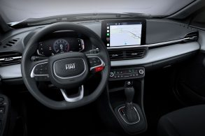 O interior do Fiat Pulse foi revelado e conta até com painel digital